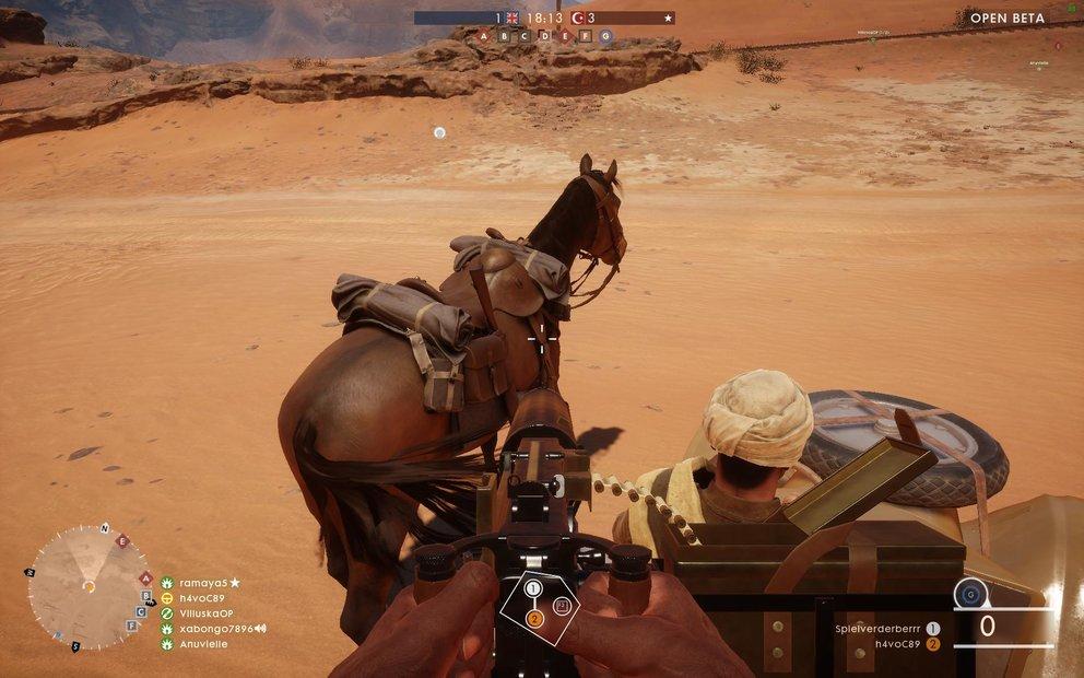 Battlefield 1 Kavallerie Tipp