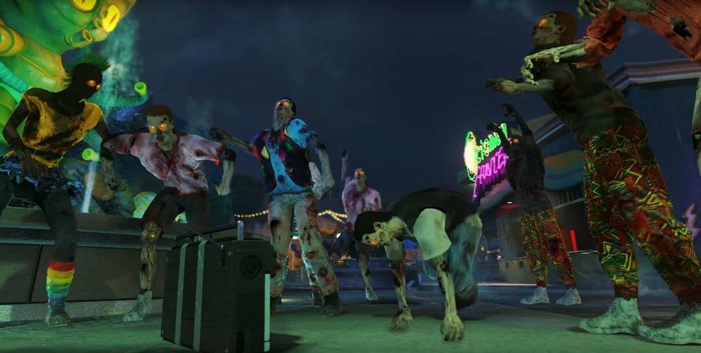 Modifizierte Boomboxen lassen Zombies zuerst tanzen und dann explodieren.
