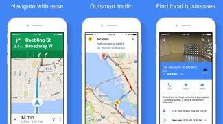 Google Maps für iOS: Update integriert Essen-Lieferdienste
