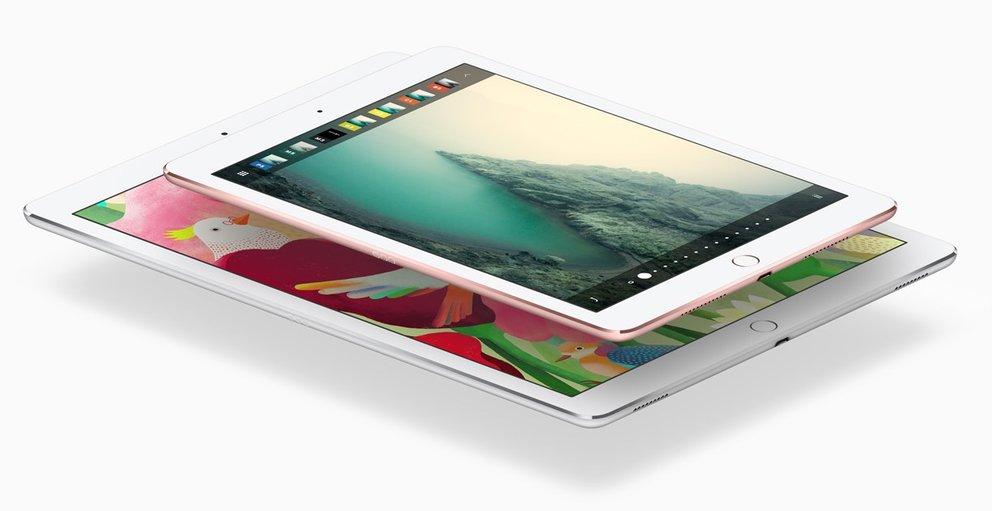 """iPad Pro 10,5"""" mit gestiegener Auflösung, Pixeldichte wie beim 9,7-Zoll-iPad"""