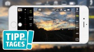 Tipp: RAW-Bilder mit dem iPhone schießen