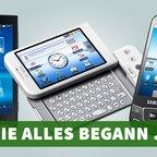 Rückblick: Die ersten Android-Smartphones von Samsung, LG, Huawei und Co.