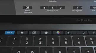 "Touch Bar: Der ""fehlende Touchscreen"" fürs MacBook Pro"