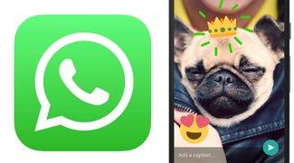 """WhatsApp für iPhone jetzt auch mit """"Kamera-Funktionen"""""""