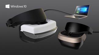 Microsoft: Günstige VR-Headsets für Windows 10 werden im Dezember vorgestellt