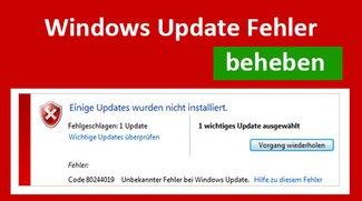 Lösung: Windows Update Fehler beheben – so geht's