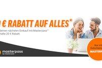20 Euro Rabatt auf alles bei notebooksbilliger.de per Zahlung mit MasterPass