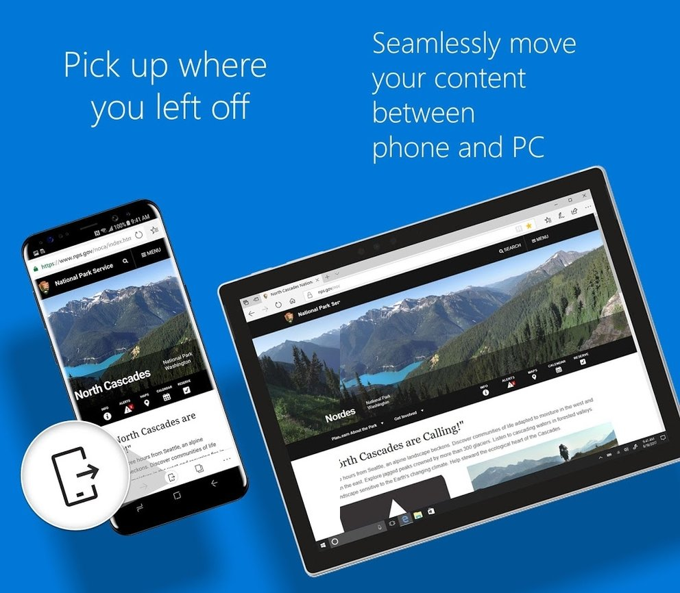 Android Browser Microsoft Edge