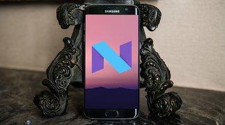 Samsung Galaxy S7 (edge): Update auf Android 7.0 Nougat wird ab sofort verteilt
