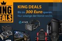 Caseking King Deals zum Black Friday: PC-Hardware, Laptops und Zubehör zu Bestpreisen