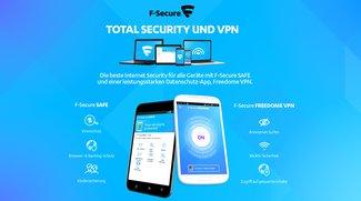 Adventskalender Tag 4: Gewinne 1 von 5 Jahresabos von F-Secure Total Security und VPN im Wert von je 99,99 €