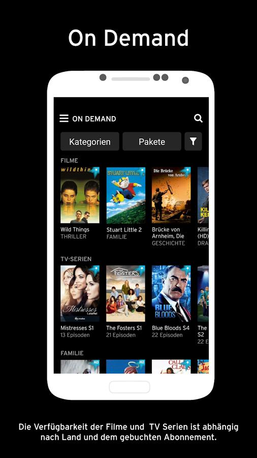 Horizon Go aktivieren: TV-Live-Stream auf Smartphone ...