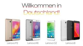 Lenovo startet Smartphone-Verkauf in Deutschland