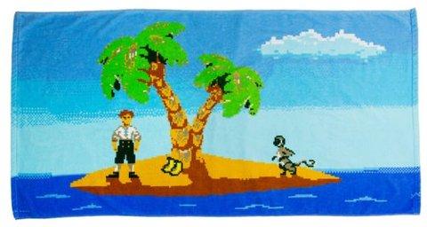 Monkey Island Handtuch