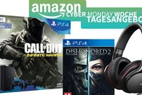 Amazon Cyber Monday Woche – PS4-Bundles mit CoD & Dishonored ab 299 Euro, Sony Audio-Produkte zum Bestpreis u.v.m </b>