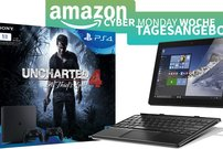 Amazon Cyber Monday Woche – PS4-Bundles mit Uncharted ab 299 Euro, Lenovo Tab 2 + Miix 310 stark reduziert u.v.m.