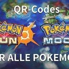 Pokémon Sonne und Mond: QR-Codes für alle Pokemon