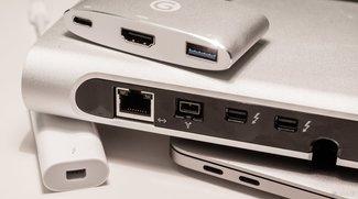 Wichtiges Zubehör und Adapter mit USB C für MacBook Pro 2016 und MacBook