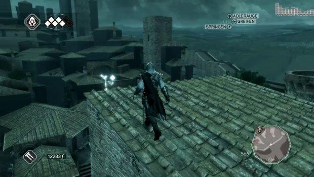 Assassin's Creed 2: Federn, Glyphen und Statuen finden - Fundorte auf der Karte