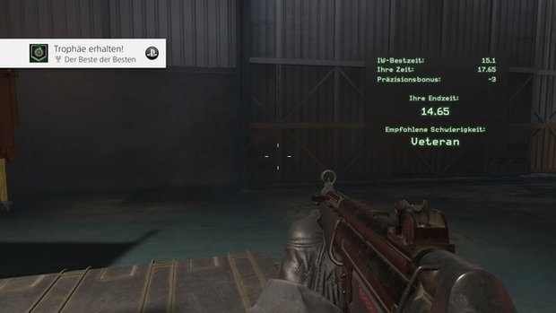 Call of Duty - Modern Warfare: Trainingsmission in unter 15 Sekunden - so geht's