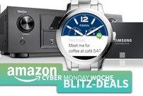 Cyber Monday Blitzangebote:<b> FOSSIL Smartwatches mit 50% Rabatt, AirPlay-Receiver, Festplatten, SSDs u.v.m. günstiger</b></b>