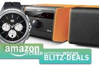 Cyber Monday Blitzangebote:<b> LG G Watch Urbane, Huawei Watch Classic, Yamaha Retro-Sound, microSD-Karten u.v.m. günstiger</b></b>