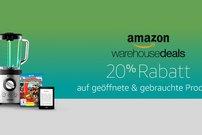 Amazon Cyber Monday Woche: 20 Prozent Rabatt auf alle Warehouse Deals