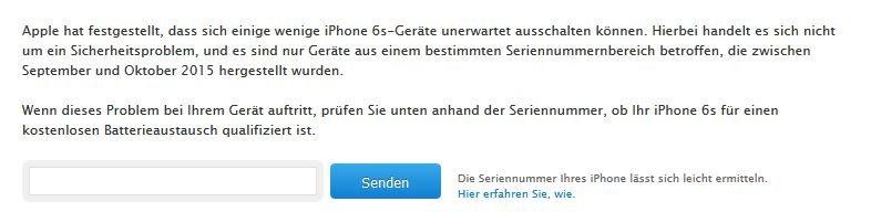 iPhone Seriennummer überprüfen