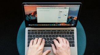 Die Touch Bar des MacBook Pro 2016 in Bildern