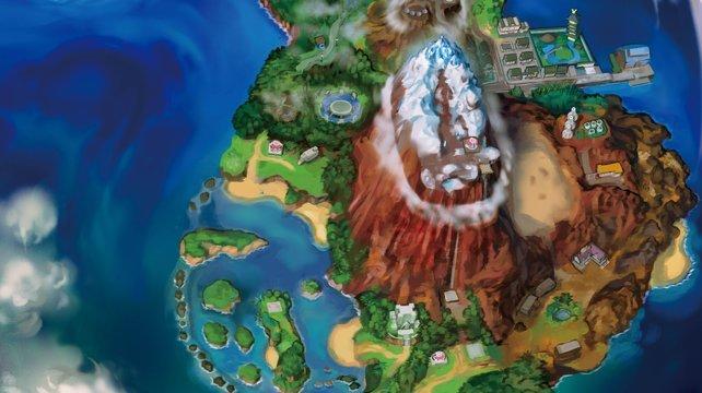 Ula-Ula ist die größe Insel der gesamten Inselkette.