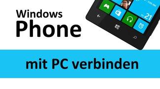 Windows Phone mit PC verbinden – so geht's
