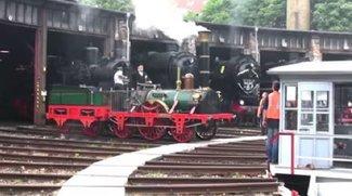 Adler-Lokomotive: Erste Dampflok im Google Doodle heute