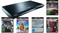 Amazon: Samsung UHD Blu-ray-Player K8500 kaufen und 5 UHD Filme geschenkt bekommen