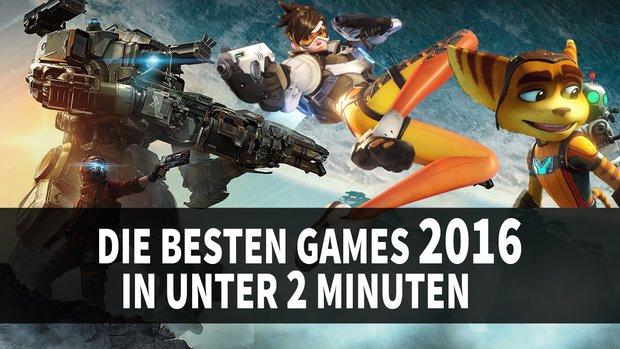 Supercut: Die besten Games 2016 in 2 Minuten