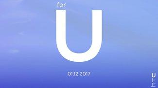 """HTC """"for U""""-Event für den 12. Januar 2017 angekündigt – HTC X10 erwartet"""