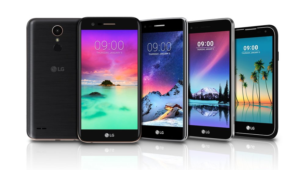 LG K10, K8, K4 und Stylus 3 vorgestellt: Neue Smartphones für die Mittelklasse