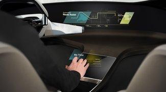 BMW zeigt holographische Bedienoberfläche, die im Raum schwebt