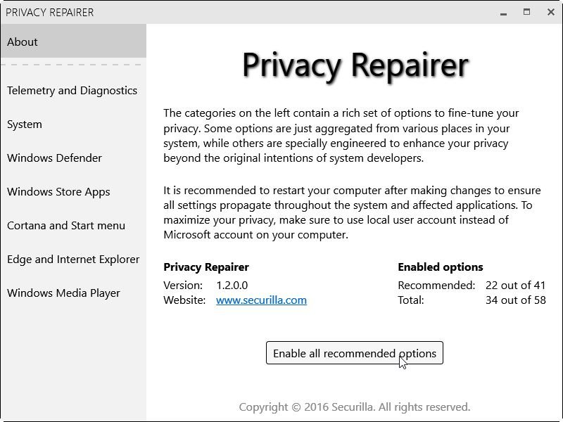 Privacy-Repairer-Start