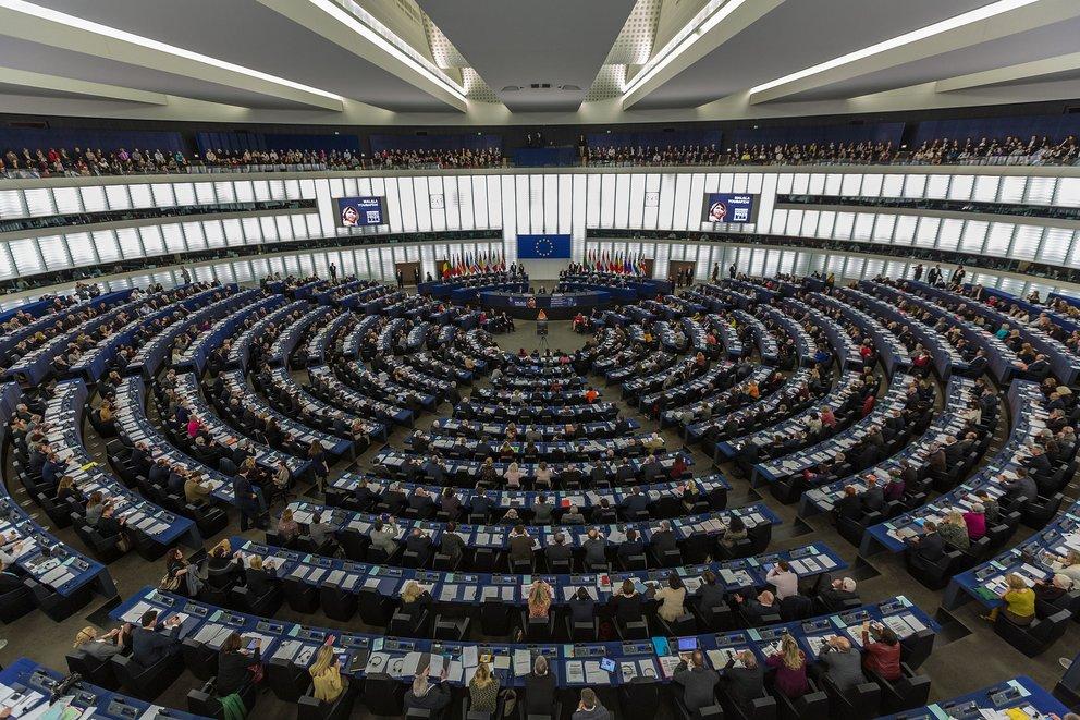 Europaparlament (Quelle: Claude Truong-Ngoc / Wikimedia Commons - cc-by-sa-3.0 [CC BY-SA 3.0 (http://creativecommons.org/licenses/by-sa/3.0)], via Wikimedia Commons)