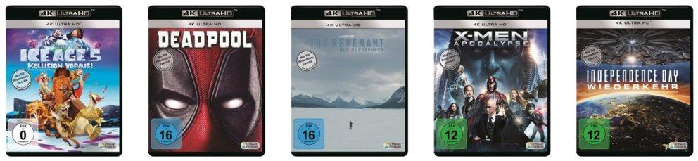 Samsung UHD Blu-Ray Player 5 UHD Filme