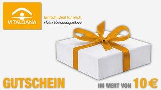 Adventskalender Tag 12: Gewinne 1 von 50 Gutscheine von deiner Versandapotheke VITALSANA