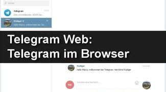 Telegram Web: Telegram im Browser nutzen