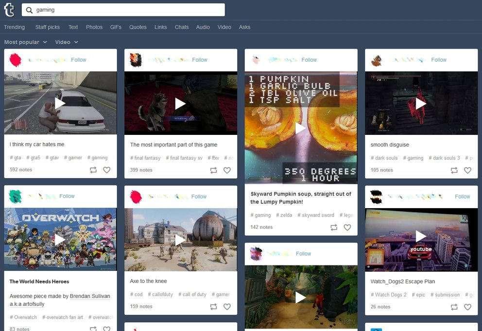Tumblr Video Download Clips