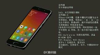 Xiaomi Mi S: Kompaktes High-End-Smartphone soll mit iPhone SE und Co. konkurrieren