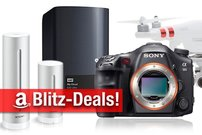 Blitzangebote: Drohnen, SSD, 8 TB NAS, Netatmo, HighEnd-Walkman, Sony SLT-A99V D-SLR u.v.m. nur kurze Zeit zum Bestpreis