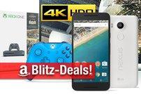 Blitzangebote: Xbox One S, Nintendo-Konsolen, 4K Sony TVs, Philips Hue, AirPlay-Receiver, Nexus 5X u.v.m.günstiger