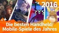 Die 10 besten Mobile/Handheld-Spiele 2016 im Jahresrückblick