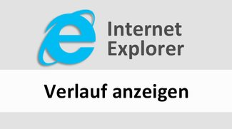 Internet Explorer: Verlauf anzeigen – so geht's