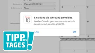 Kalender-Spam auf iPhone, Mac und in iCloud löschen und melden, so gehts