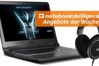 notebooksbilliger.de Adventskalender: Spart bis zu 150 Euro auf Notebooks, Tablets und Kopfhörer – nur heute!
